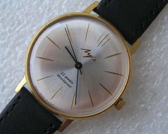 VINTAGE WATCH Ussr Luch made in ussr Ultra Slim