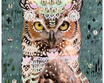 Lalita owl print