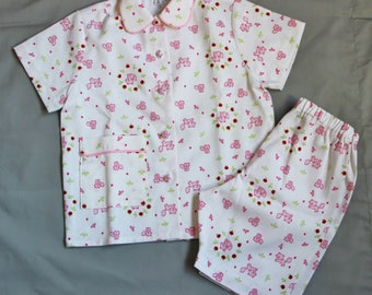 Summer cotton T 4 and 6 pajamas