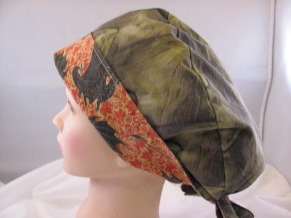 Women's Pixie Scrub Hat Mother of Dragons