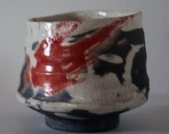 Matcha Chawan, Tea Cup, Raku