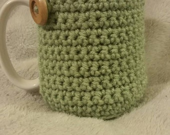 Crochet coffee cup cozy