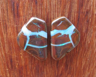 Boulder Opal Pair