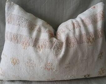 "Kilim Pillow,16""24""Inches, Decorative Pillow,  Cushion Cover, Throw Pillow, Tribal Pillow, Turkish Kilim Pillow, Kilim Pillow, Lumbar Pillow"