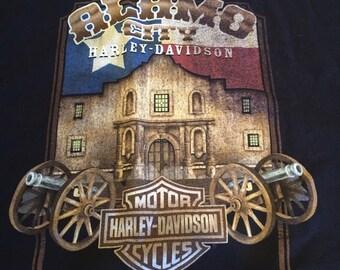 Harley Davidson Large Tshirt San Antonio Alamo City