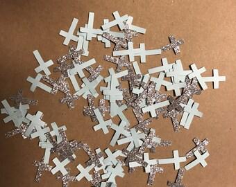 Cross Glitter Confetti