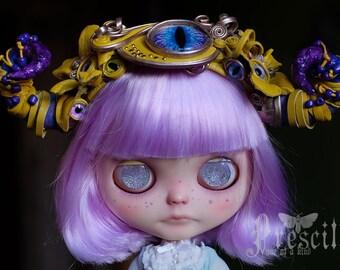 Headband for Blythe Doll. Horns for Blythe. Hair Accessory. Custom Blythe