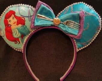 Princess Ariel Ears disney inspired ears