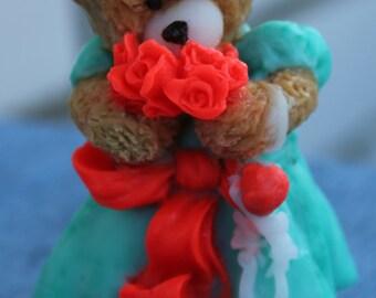 Gift for best friend Gift for her Gift for sister Gift for girl Gift soap Teddy bear girl Bar teddy soap Teddy soap Bear soap Cute soap