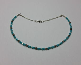Bi-Aqua Necklace