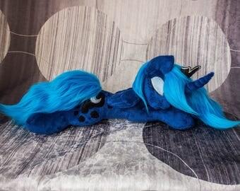 Sleeping Princess Luna Custom Plush My Little Pony Friendship is Magic Stuffed Animal Toy