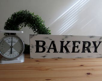 Bakery Farmhouse Sign, Fixer upper sign, farmhouse decor, Bakery Sign,  Rustic Bakery Sign, Farm House, Wood Sign, Kitchen Sign
