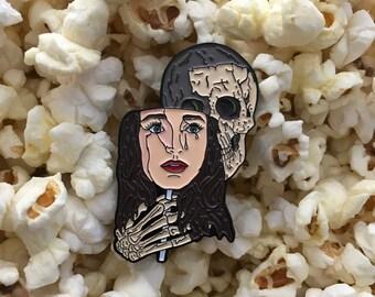 Popcorn The Possessor Soft Enamel Pin