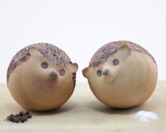 Hedgehog Salt & Pepper Shakers