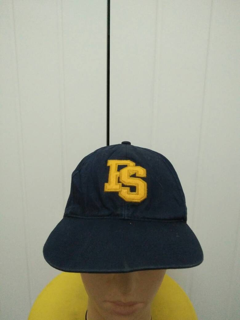 74193b2bf2d Rare Vintage POLO SPORTS Ralph Lauren Big Logo Spell Out Embroidered Cap Hat  Free size fit