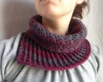 Crochet PATTERN - November Scarf, easy crochet scarf pattern, easy crochet cowl pattern, womens crochet cowl pdf, easy crochet pdf