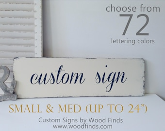 Custom wood signs, Custom Signs, Wooden Custom Sign, Personalized Sign, Personalized Wedding Gift, Wedding Gift, Personalized Gift - Medium