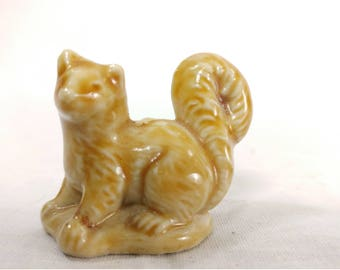 Tiny Ceramic Squirrel