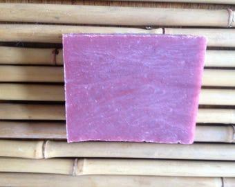 Rouge cold process (vegan) soap