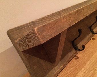 Large pallet wood coat hook