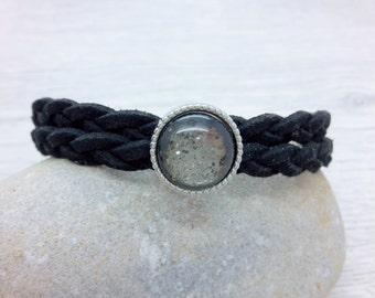 Vegan bracelet, black