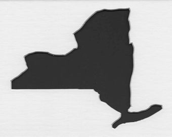 New York Stencil Made from 4 Ply Mat Board