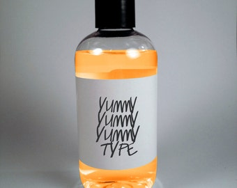 Yummy Yummy Yummy type Lush dupe Vegan Cruelty Free Shampoo Conditioner Body Wash Spray Perfume Soap Bubble Bath Cream Lotion Face Scrub