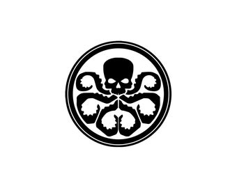 Hydra Decal - The Avengers, Marvel Hydra, Marvel decal, Agents of Shield, Captain America, Avengers