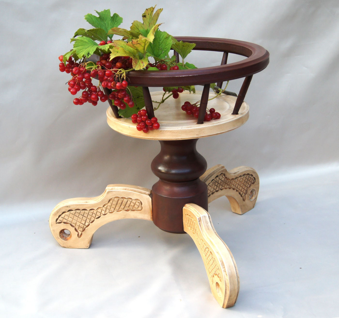 Wooden Plant Pot Holder Indoor Wood Plant Stand Pot Plant