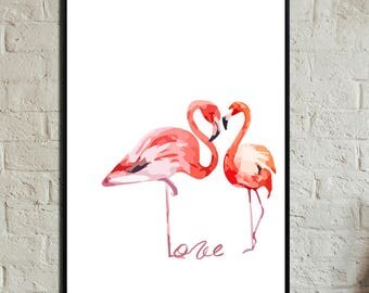 Love Poster. Instant Download. Wall art. Abstract art. Print art. Modern art. Typography Poster. Digital art.