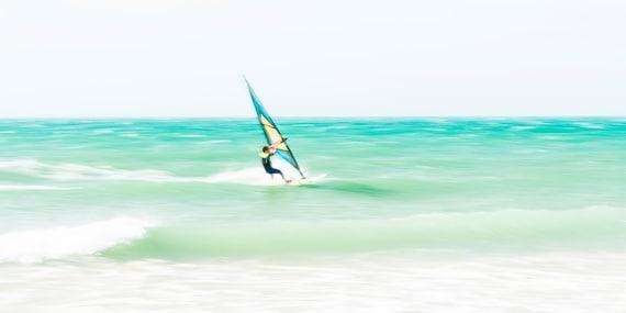 TARIFA SURFING. Windsurfing Print, Watersport Picture, Tarifa, Sports, Photographic Print