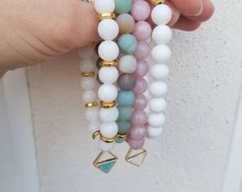 Beaded Bracelet Short Stack