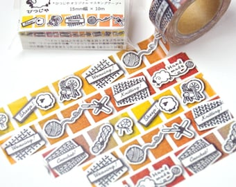 Washi tape-for sheep lover for knitter, spinner for, for weaver, for crocheter, yarn for lover