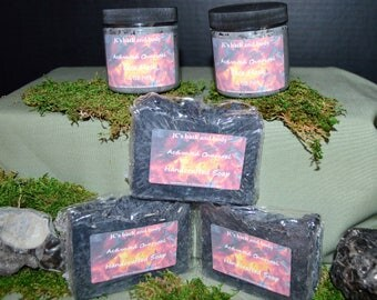 Charcoal face bars