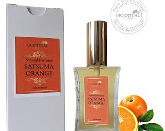 On Sale Satsuma Orange Perfume Oil, Organic Satsuma Orange Perfume Oil Spray, Vegan Perfume, Natural Perfume Oil, Gift Idea