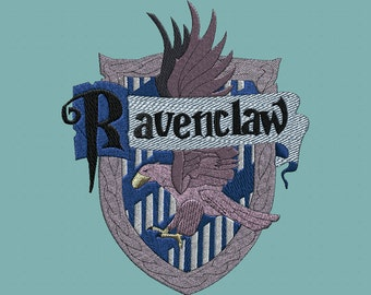 Embroidery design-Embroidery design: Ravenclaw crest-Crest Ravenclaw