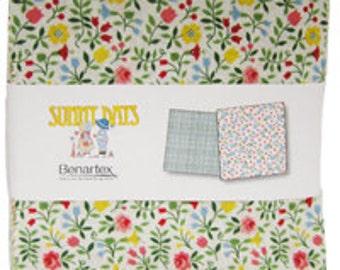 "SALE Sunny Days by Benartex - (42) 5"" x 5"" Charm Pack"