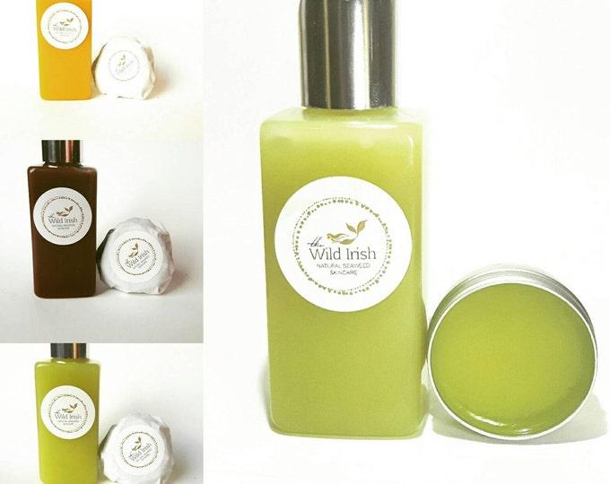 LOTION/LIP-BALM. Gift Set. Hemp/Mango/Chocolate Seaweed Collection  Natural Ingredients.  Preservative Free .