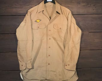 1950's US Army Field Button Up
