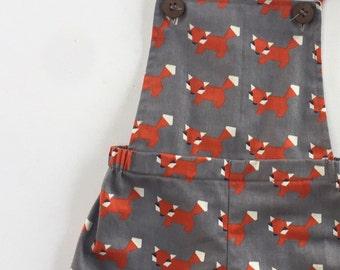 Little Fox Overalls