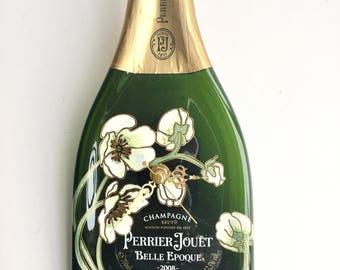 Perrier Jouet 2008 Belle Époque  champagne bottle clock