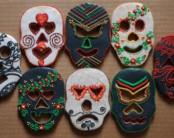 Decorative cookie masks