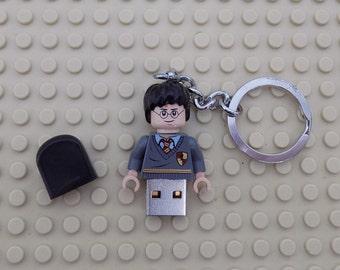 Harry Potter Lego Minifigure 16GB USB Memory stick  custom made