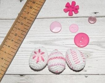 Crochet Easter Egg, Mini Eggs, Easter Egg Hunt, Amigurumi Easter Decorations,