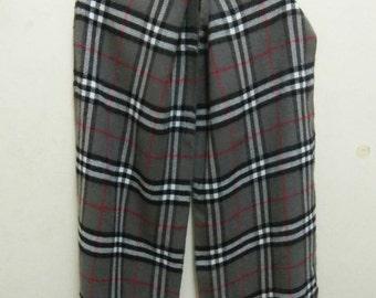 Rare Vintage BURBERRYS Scarf, Burberrys of London Scarf, Burberrys Muffler, Winter scarf, nova check, Lambswool , swag, k swiss, Luxury