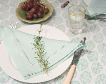 Mint Green Napkins - Set of 4