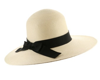 Ultrafino Classic Coco Female Straw Panama Hat