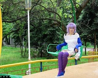 Rosario + Vampire Mizore Shirayuki  Yuki-Onna school uniform cosplay costume