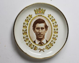 Vintage Prince Charles Commemerative Plate
