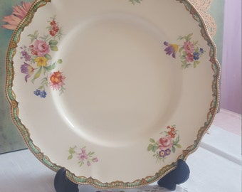 Exquisite Old Staffordshire johnsons bros, sandwich plate / luncheon plate / afternoon tea center piece plate